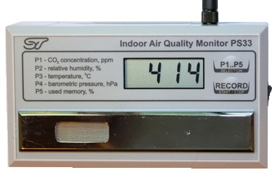 Indoor Air Quality Monitor, model PS33
